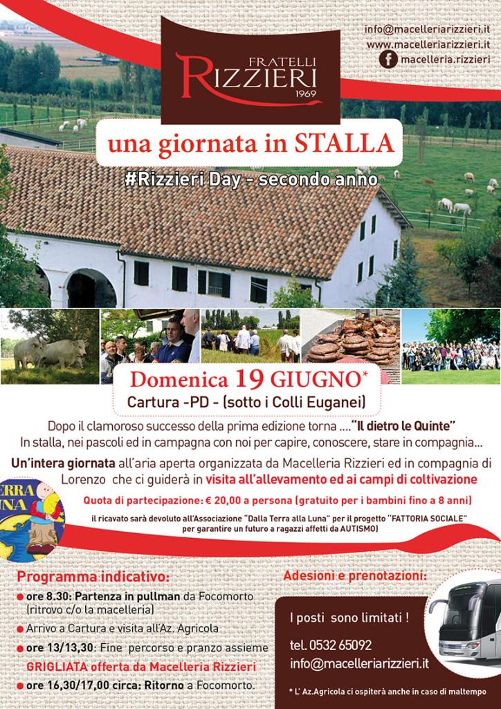 Macelleria Rizzieri Ferrara - gita in stalla