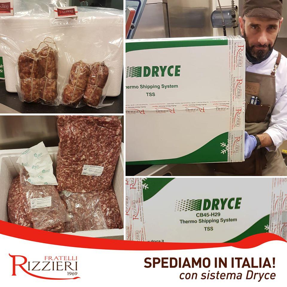 spedizioni in italia con sistema Dryce®